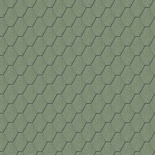 Iko bitumena šindeļi ArmourShield 04 - Meža zaļš, 3m2