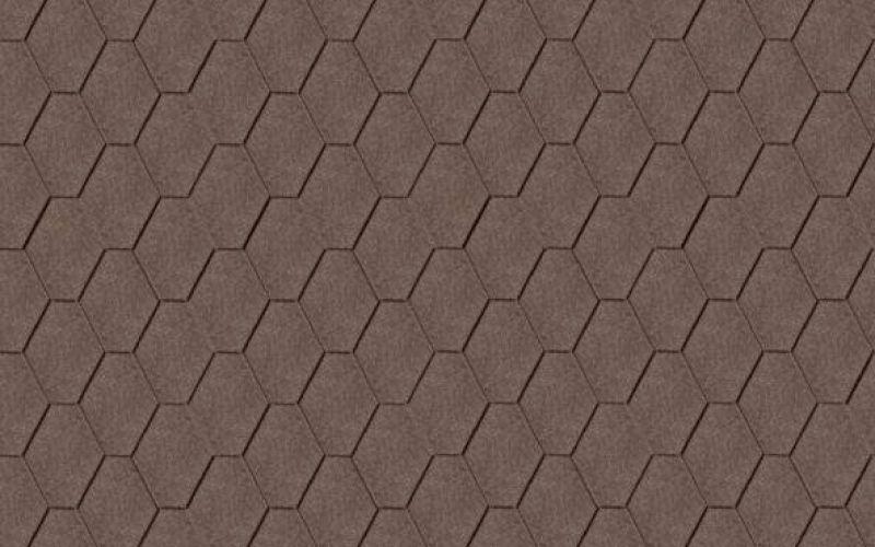 Iko bitumena šindeļi ArmourShield 07 - Divu toņu brūns, 3m2