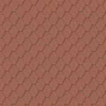 Iko bitumena šindeļi ArmourShield 10 - Ķieģeļu sarkans, 3m2