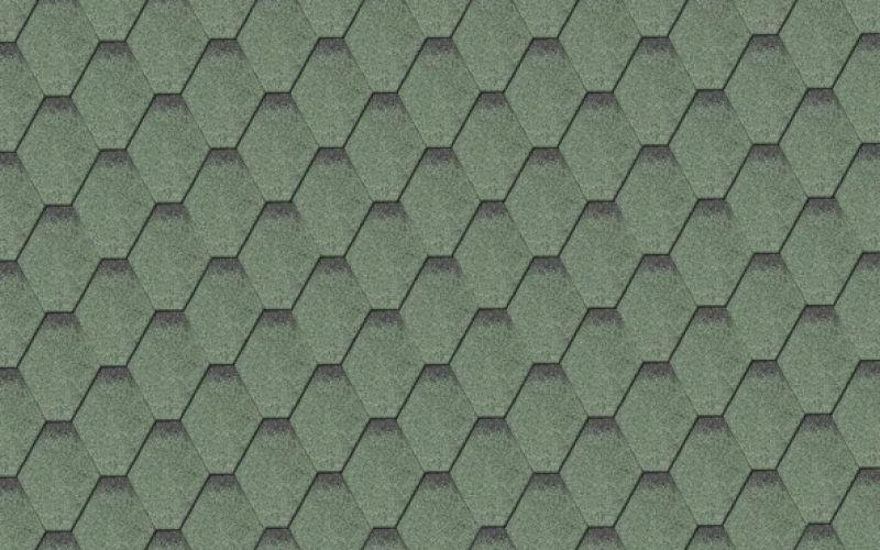 Iko bitumena šindeļi ArmourShield 24 - Meža zaļš ēnots, 3m2