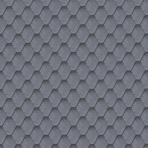 Iko bitumena šindeļi ArmourShield 25 - Jūras zils ēnots, 3m2