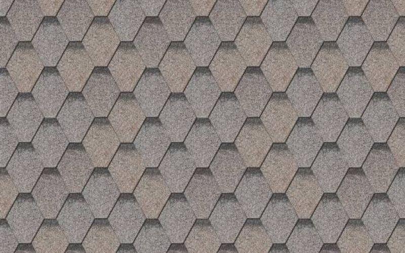 Iko bituminous shingles ArmourShield 26 - Grey ēnots, 3m2
