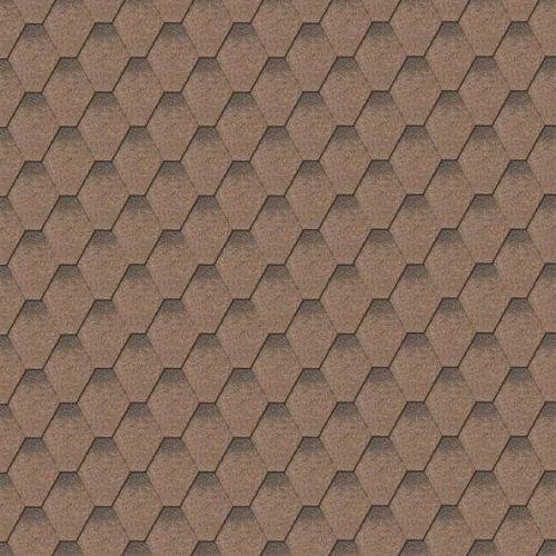 Iko bitumena šindeļi ArmourShield 27 - Divu toņu brūns ēnots, 3m2