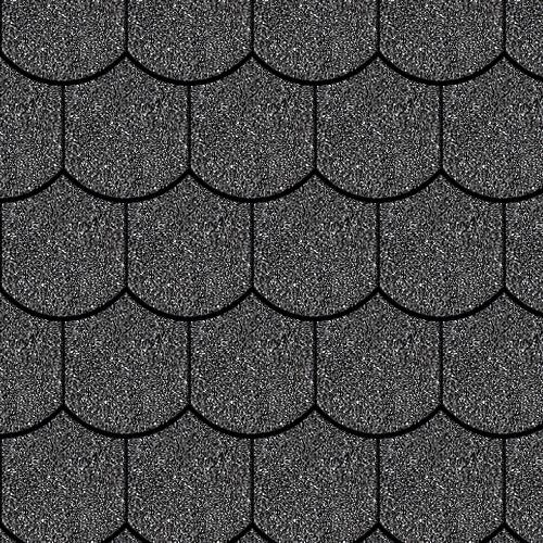 Iko bitumena šindeļi BiberShield 01 - Melns, 3m2