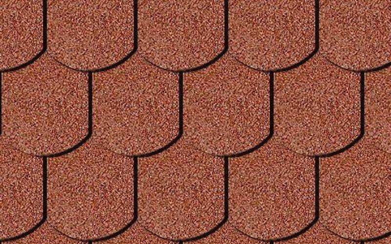 Iko bitumena šindeļi BiberShield 10 - Ķieģeļu sarkans, 3m2