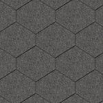 Iko bitumena šindeļi DiamantShield 01 - Melns, 2.46m2