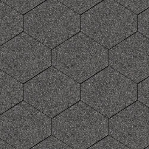 Iko bitumena šindeļi Monarch Diamant 01 - Melns, 2.46m2