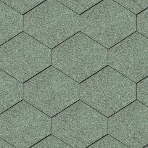 Iko bitumena šindeļi Diamant 04 - Meža zaļš, 3m2