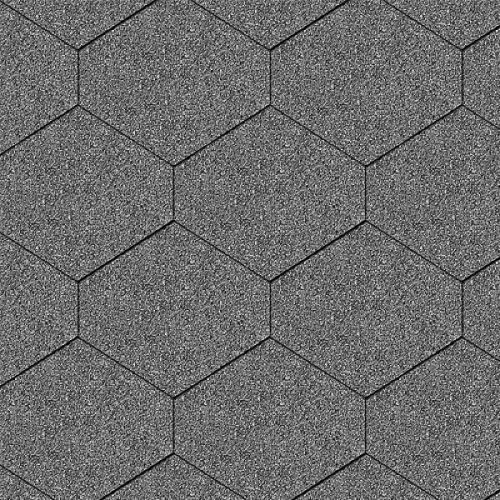 Iko bitumena šindeļi Diamant 31 - Tumši pelēks, 3m2