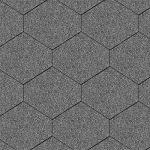 Iko bitumena šindeļi Monarch Diamant 31 - Tumši pelēks, 2.46m2