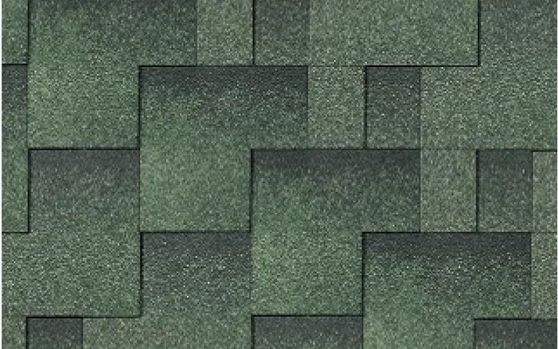 Iko bitumena šindeļi Skyline 24 - zaļš, 3m2