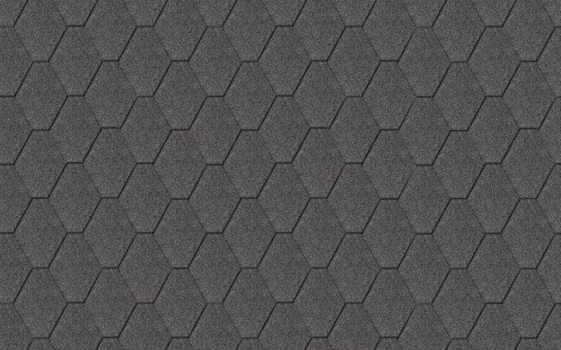 Iko bitumena šindeļi StormShield 01 - Melns, 3m2