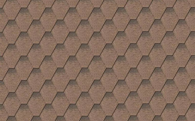 Iko bituminous shingles StormShield 27 - Two-tone brown ēnots, 3m2