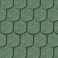 Iko bitumena šindeļi Victorian 04 - Meža zaļš, 3m2