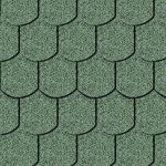Iko bitumena šindeļi BiberShield 04 - Meža zaļš, 3m2