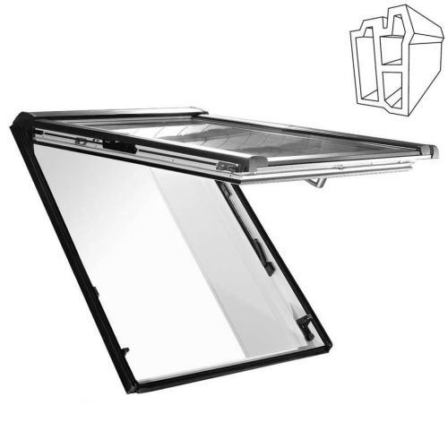Roof window ROTO Designo R85H 5/11 with the WD unit