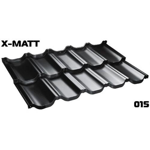 Jumta moduļi BudMat VENECJA 50*, 1150x700mm (0.805m2),X-Matt SSAB 015 melns (RAL-9005)