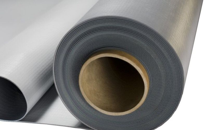 TECHNONICOL Logicroof V-RP PVC jumtu hidroizolācijas membrāna, pelēka 2,05x20m, 41m2