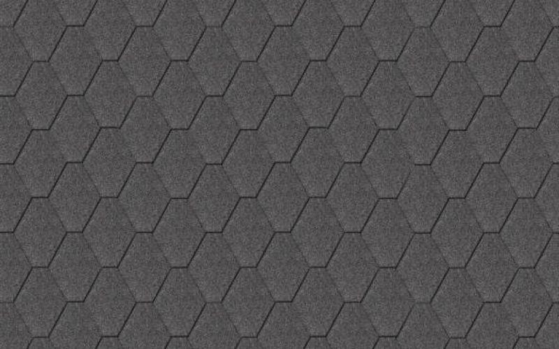 Iko bitumena šindeļi ArmourShield 01 - Melns, 3m2