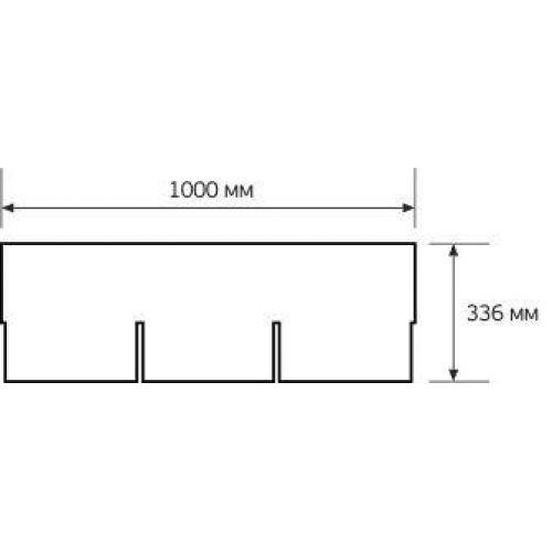 Iko bitumena šindeļi SuperGlass 3Tab 10 - Ķieģeļu sarkans, 3m2