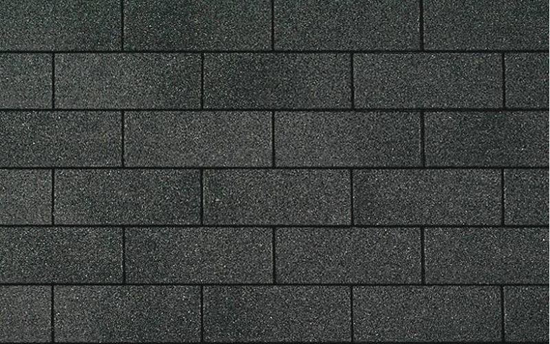 Iko bitumena šindeļi SuperGlass 3Tab 52 - Divu krāsu melns, 3m2