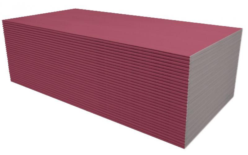 Knauf (GKF) fire-resistant plasterboard (plasterboard) 1200x3000x12,5mm