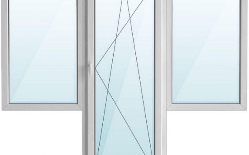 Istabas logs ar lodžijas durvīm Hruščova paneļu projekts 2060 x 2100 mm