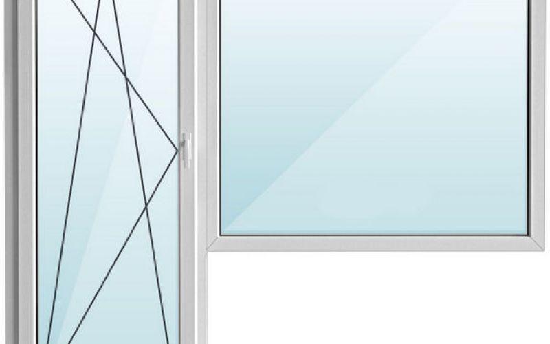 Istabas logs ar lodžijas durvīm Hruščova paneļu projekts 2060 x 2100