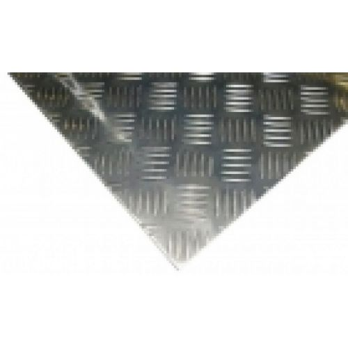 Alumīnija loksne, riflēta 2/4x1500x3000 ALMG3