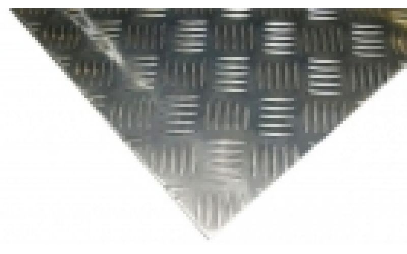 Alumīnija loksne, riflēta 3/5x1250x2500 ALMG3