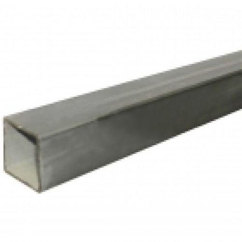 Nerūsējošā tērauda kvadrātcaurule,slīpēta AISI 304, 20x20x1.5mm, 6m