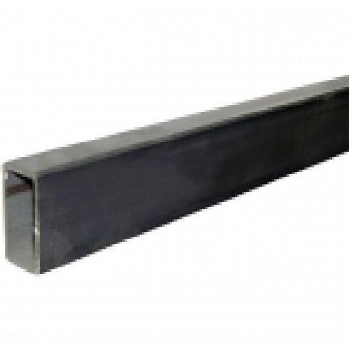 Nerūsējošā tērauda taisnstūra caurule, AISI 304, 40x20x2mm, 6m