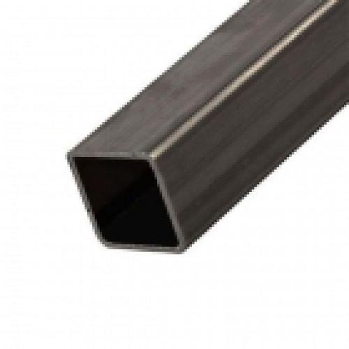 Kvadrātcaurule, auksti formētas EN 10219 S235JRH, 50x50x5mm, 6m