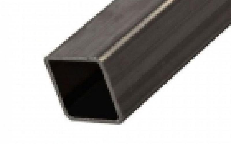 Kvadrātcaurule, auksti formētas EN 10219 S235JRH, 40x40x1,5mm, 6m