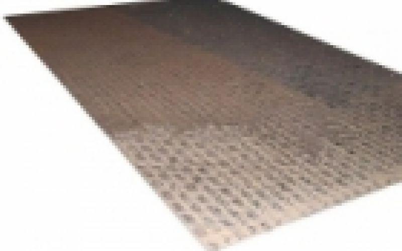 Metāla loksne, karsti velmēta riflēta, pilienveida 4x1500x3000 S235 JR