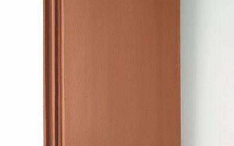Monier Turmalin rindu dakstiņš, viscaur krāsots, ķieģeļsarkans