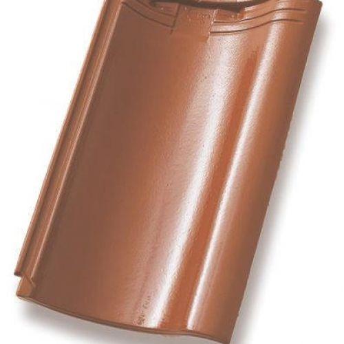Monier Nortegl, rindu dakstiņš, glazēts, kastaņbrūns