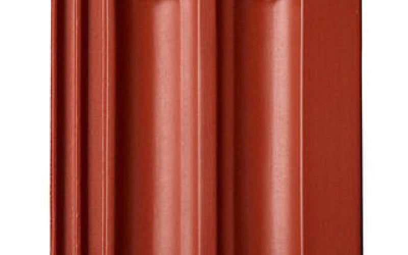 Monier Granat 13V, rindu dakstiņš, angobets, sarkans
