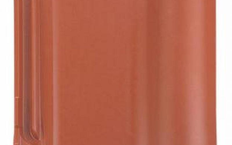 Monier Rubin 13V, rindu dakstiņš, viscaurkrāsots, ķieģelsarkans