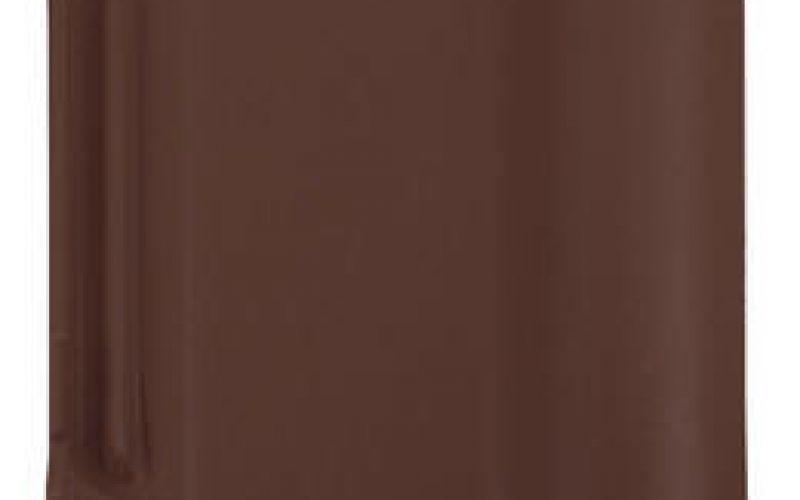 Monier Rubin 13V, rindu dakstiņš, angobets, brūns