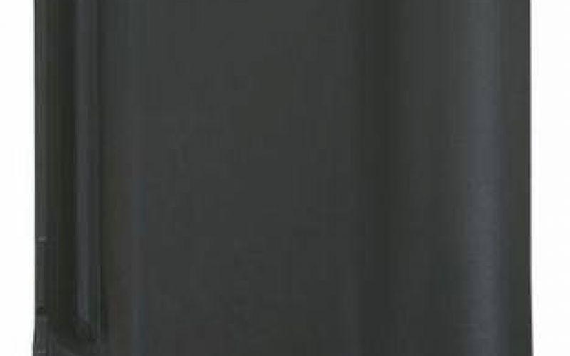 Monier Rubin 13V, rindu dakstiņš, angobets, melns