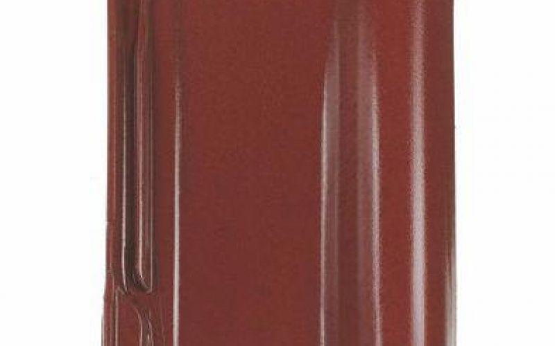 Monier Rubin 13V, rindu dakstiņš, glazēts, ķiršsarkans