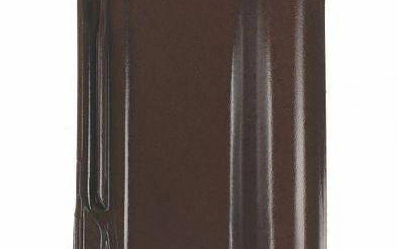 Monier Rubin 13V, rindu dakstiņš, glazēts, brūns