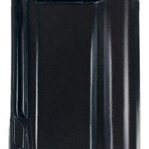 Monier Rubin 13V, rindu dakstiņš 1, glazēts, melns