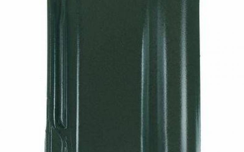 Monier Rubin 13V, rindu dakstiņš, glazēts, zaļš