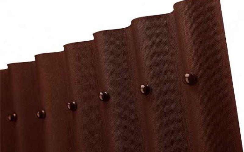 Onduline bitumena viļņotā jumta loksne 2000x950mm brūna