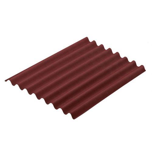 Onduline TILE bitumena viļņotā jumta loksne sarkana
