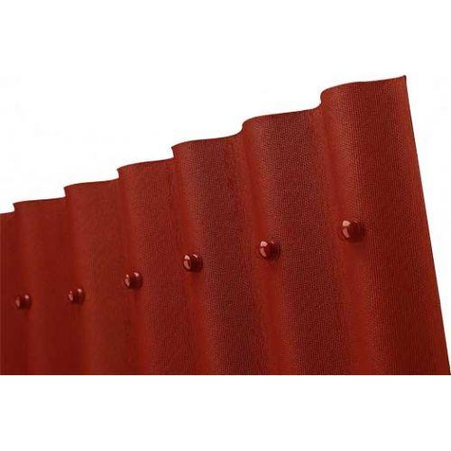 Onduline bitumena viļņotā jumta loksne 2000x950mm sarkana