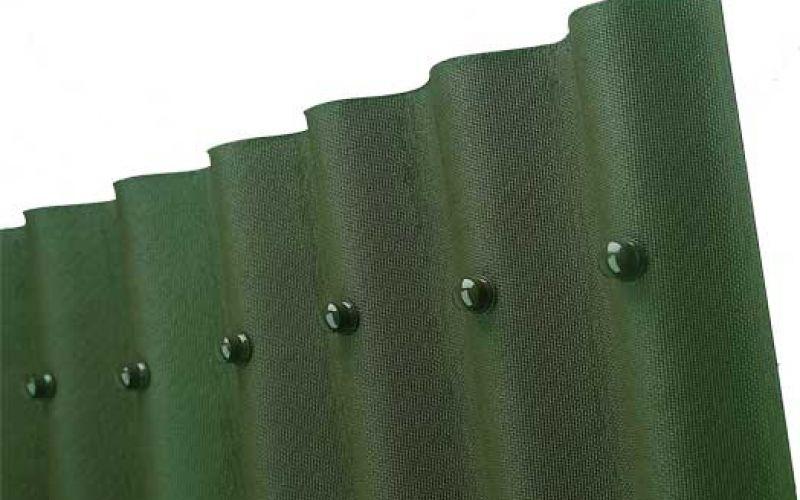 Onduline bitumena viļņotā jumta loksne 2000x950mm zaļa