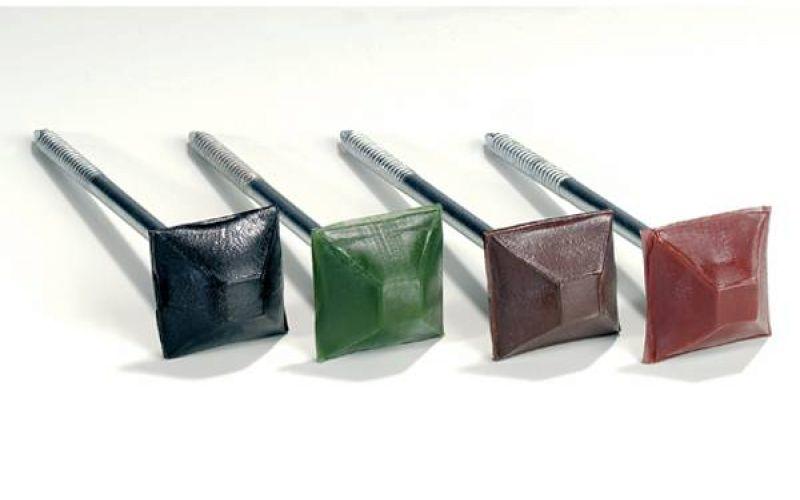 Onduline naglas (73.5x3) Zaļas